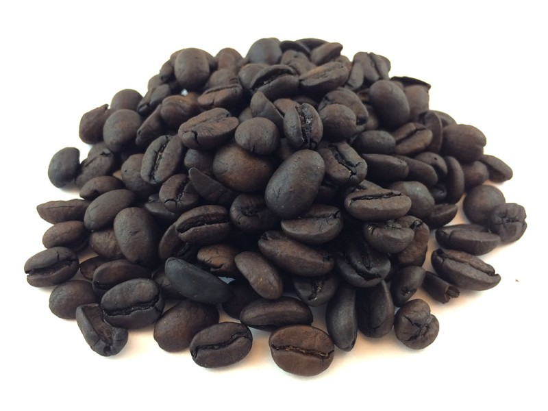 Coffee beans, French Vanilla, Certified Organic, 8 oz.