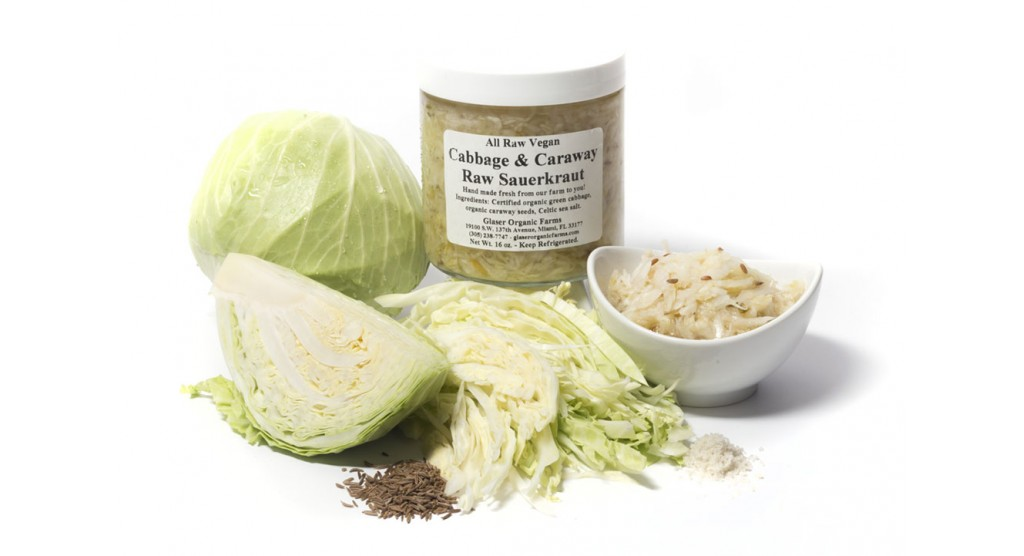 Cabbage and Caraway Sauerkraut, 16 oz.