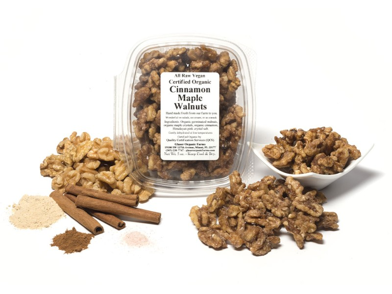 Cinnamon Maple Walnuts, 5 oz.