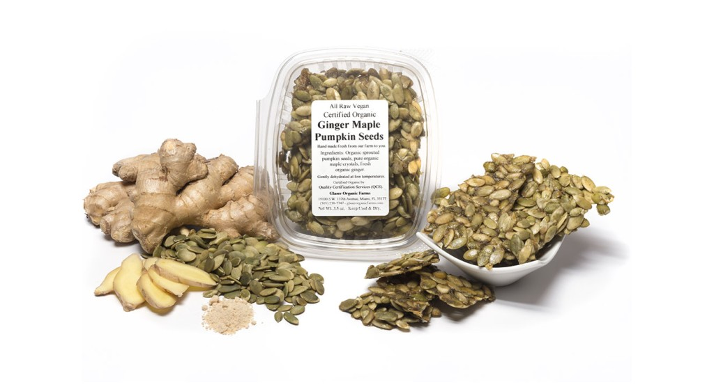 Ginger Maple Pumpkin Seeds, 5 oz.