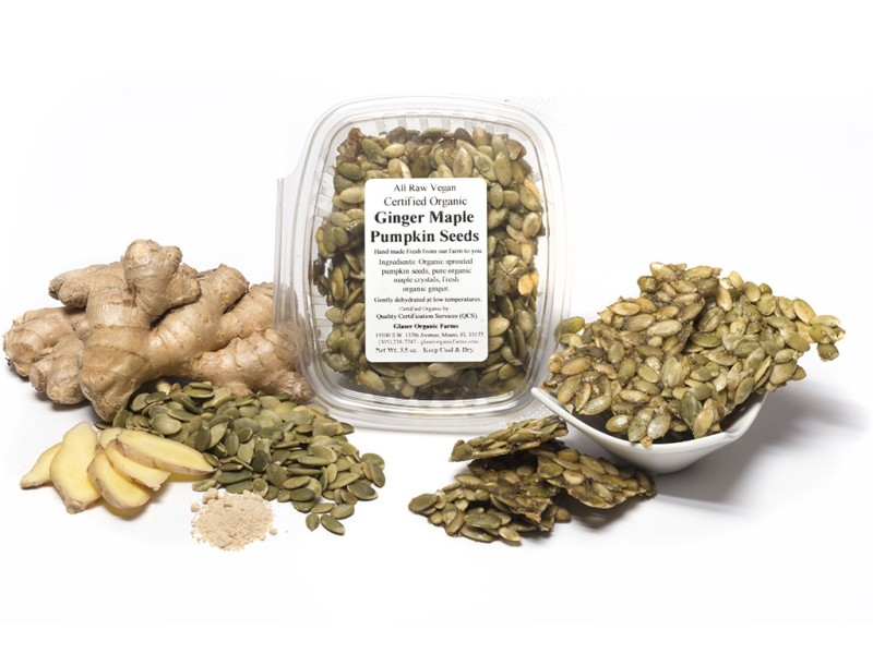 Ginger Maple Pumpkin Seeds, 4 oz.