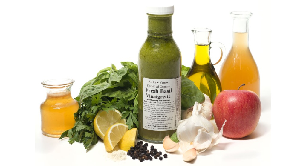 Basil Vinaigrette Dressing, 12 oz.