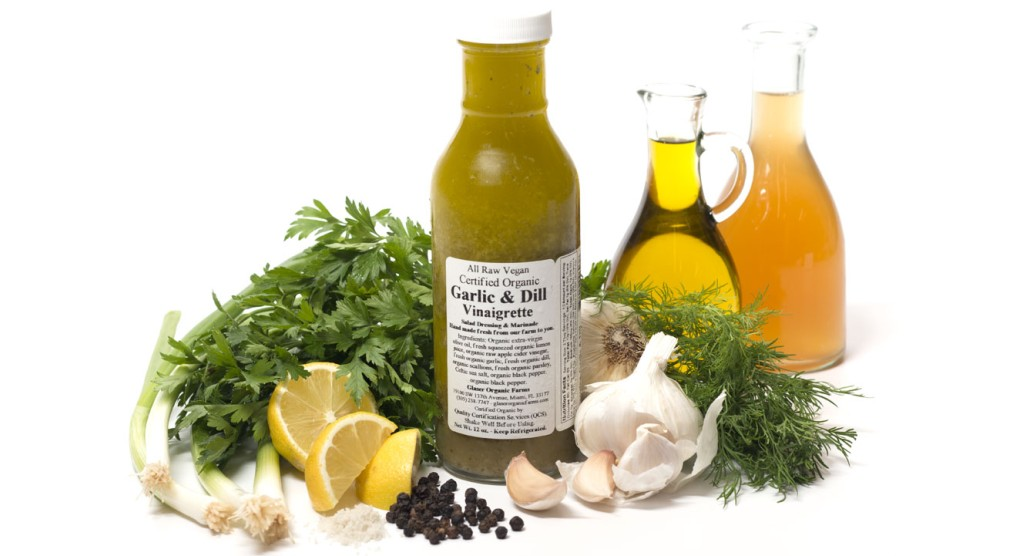 Garlic and Dill Vinigrette Dressing, 12 oz.