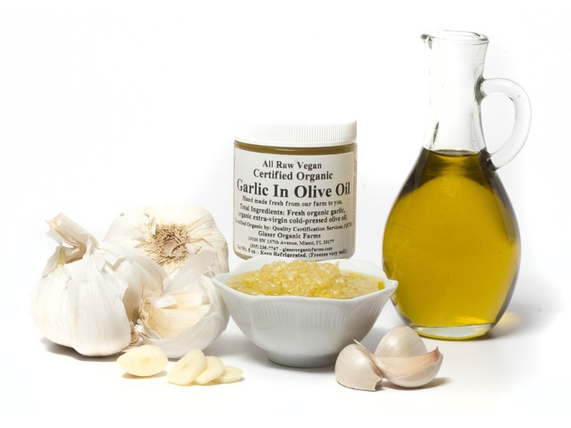 Garlic in Olive Oil, 5 oz.