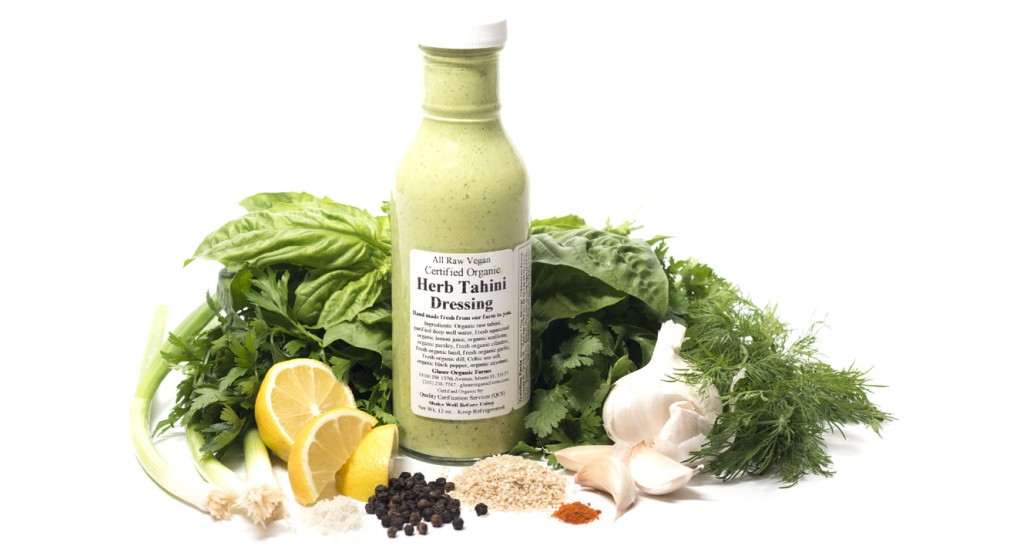 Herb Tahini Dressing, 12 oz.
