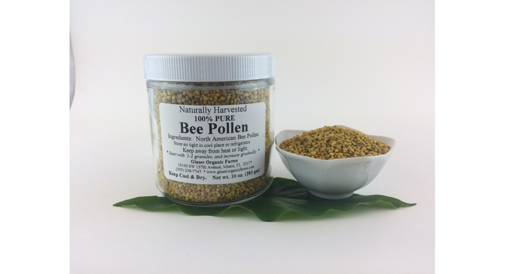 Bee Pollen, North American Natural Harvest,  10 oz.