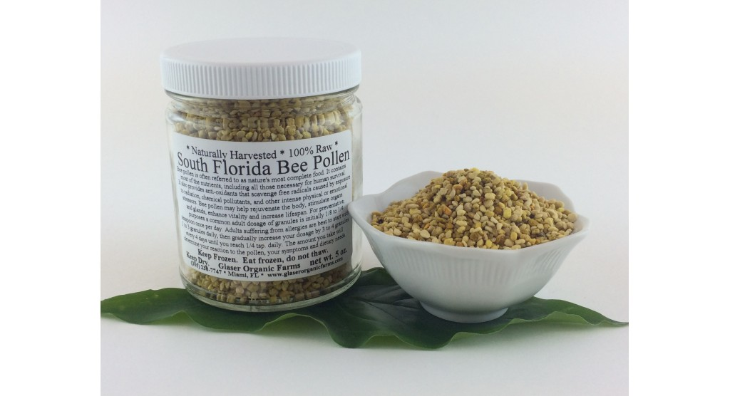 Bee Pollen, South Florida Raw, 5oz