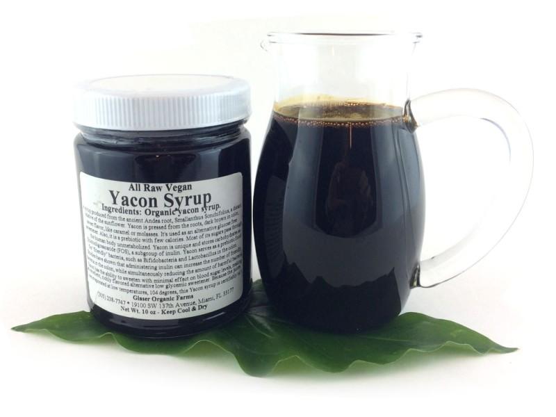 Raw Yacon Syrup Organic 10 Oz
