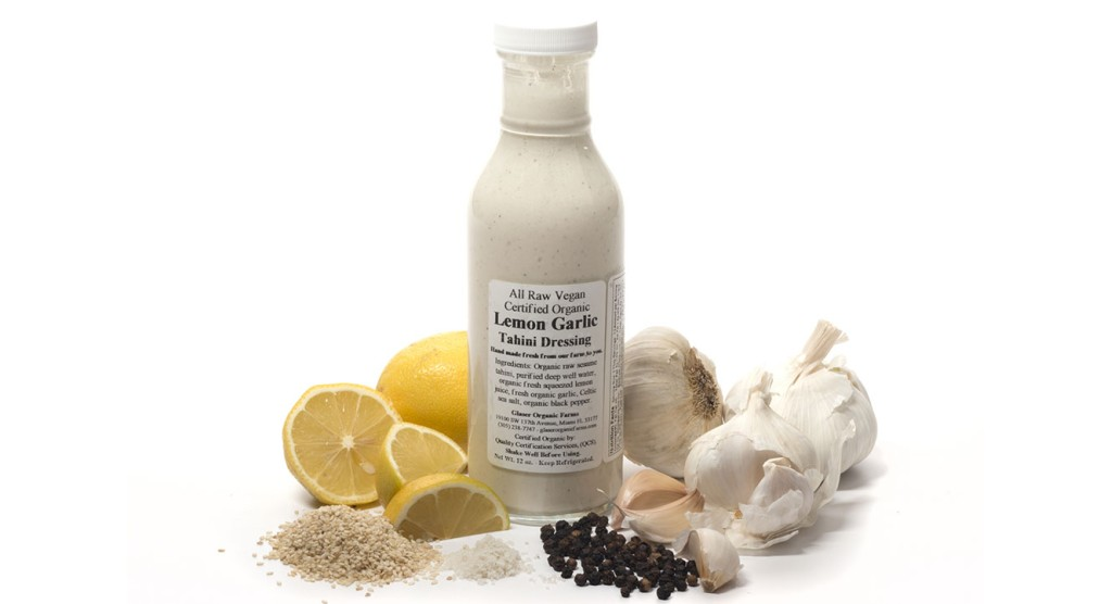 Lemon Garlic Tahini Dressing, 12 oz.