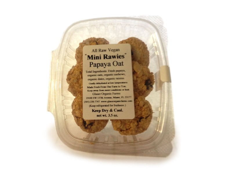 Papaya Oat Mini Rawie, 3.5 oz.