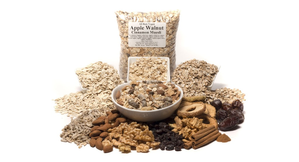 Apple Walnut Muesli, 16 oz.
