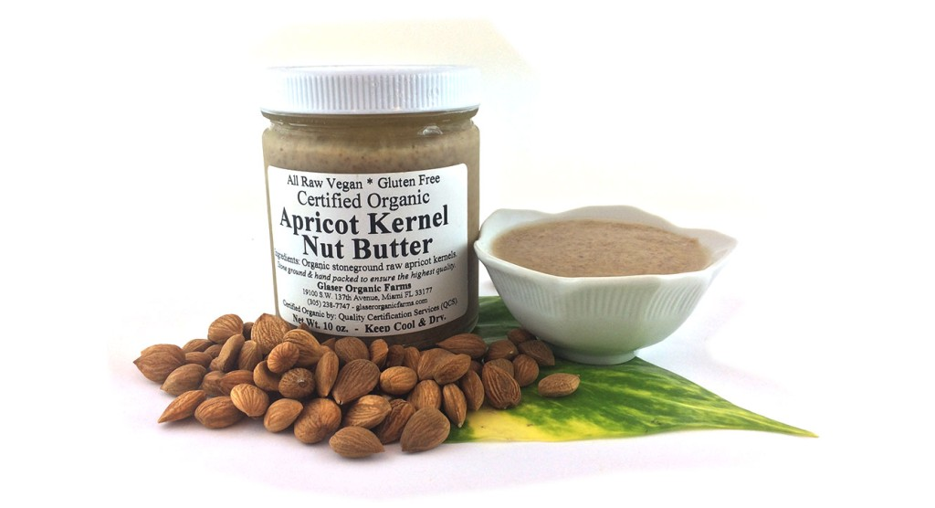 Raw Apricot Kernel Nut Butter, 10 oz.