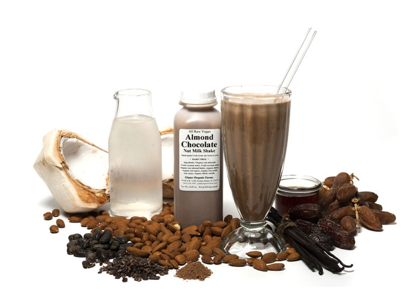 Almond Chocolate Nut Shake, 16 oz.
