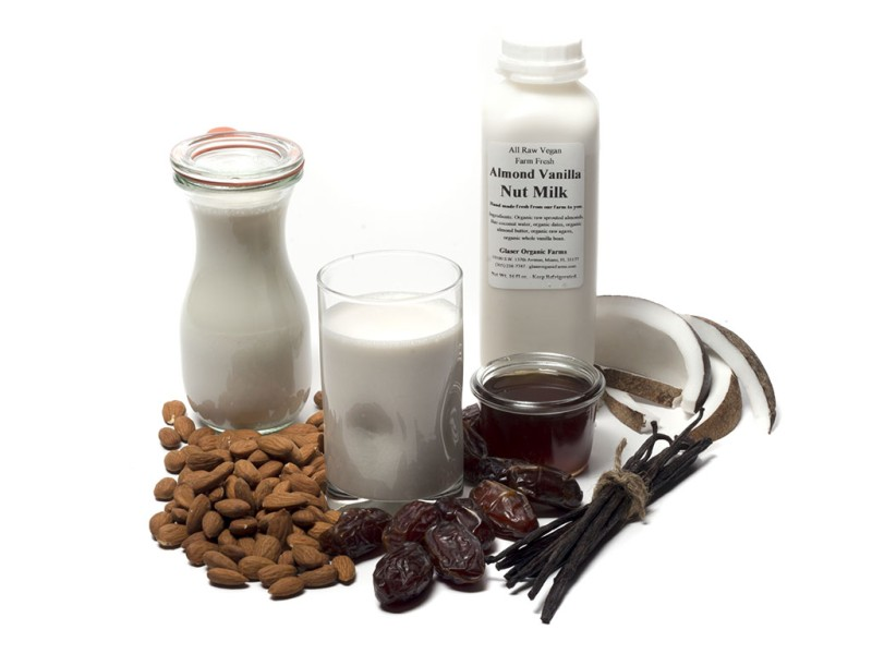 Almond Vanilla Nut Milk, 16 oz.