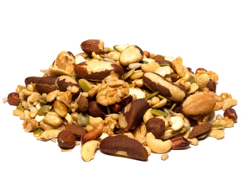 Whole Mixed Nuts and Seeds, 8 oz.