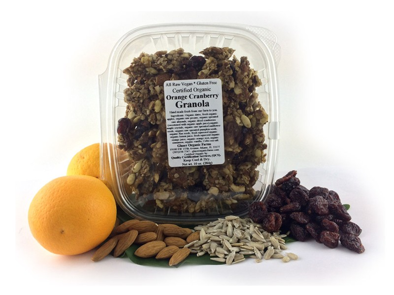 Orange Cranberry Granola, 10 oz.