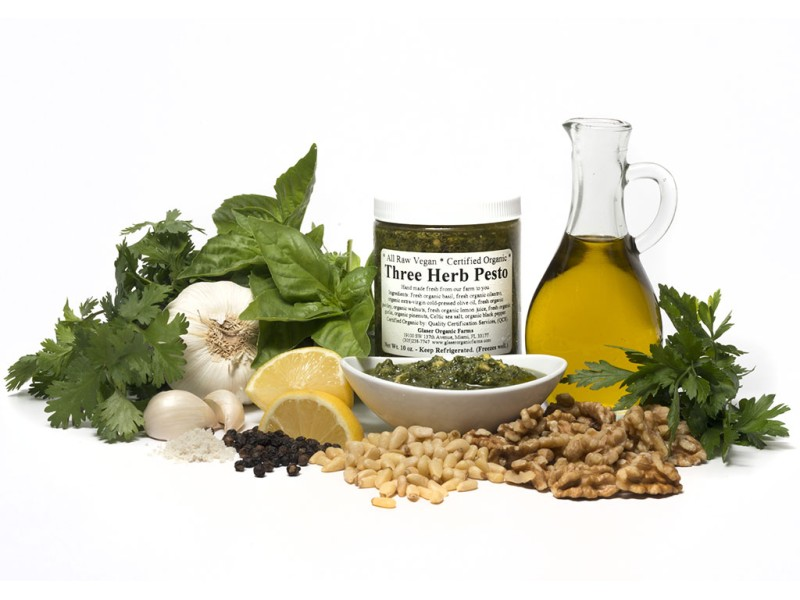 Three Herb Pesto, 10 oz.