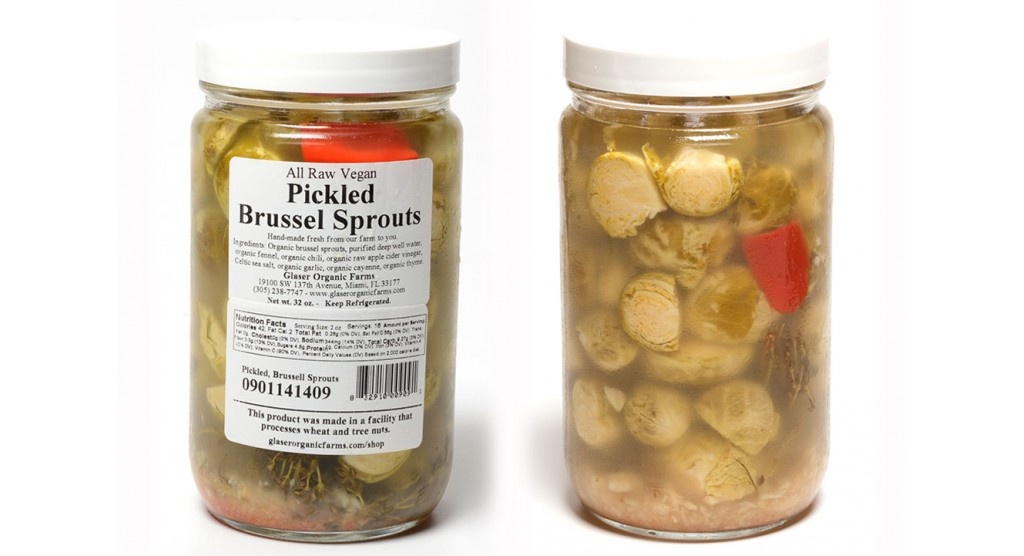 Pickled Brussel Sprouts -  32 oz.