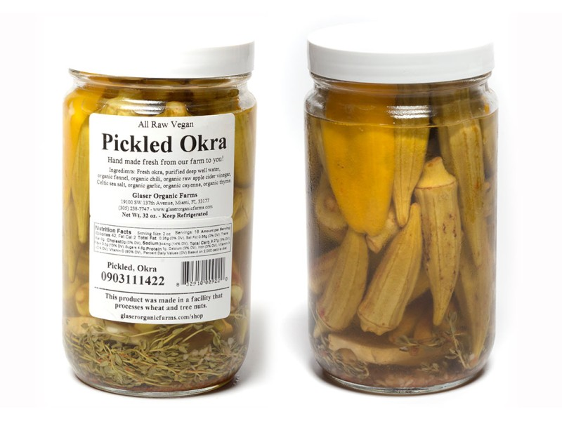 Pickled Okra, 32 oz.