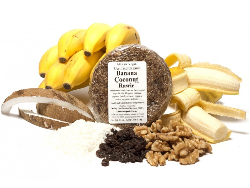 Banana Coconut Soft Rawie, 4 oz.