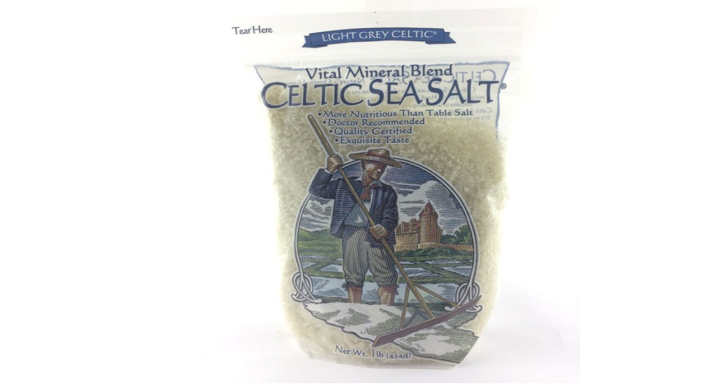 Celtic Grey Sea Salt, Vital Mineral Blend, 16 oz.
