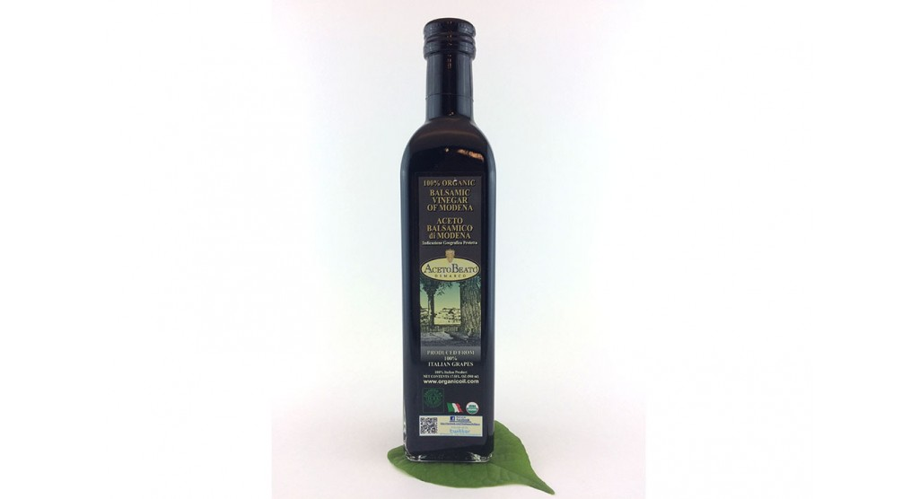 Balsamic Vinegar, Olio Beato, 17.5 oz.