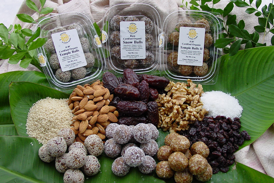 temple balls, our beautiful snack of dried fruit, nuts and seeds